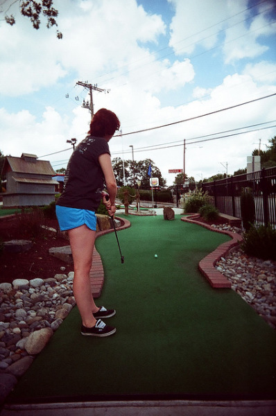 Hill Top Miniature Golf on Flickr.Photo Credit: Matt Brasch