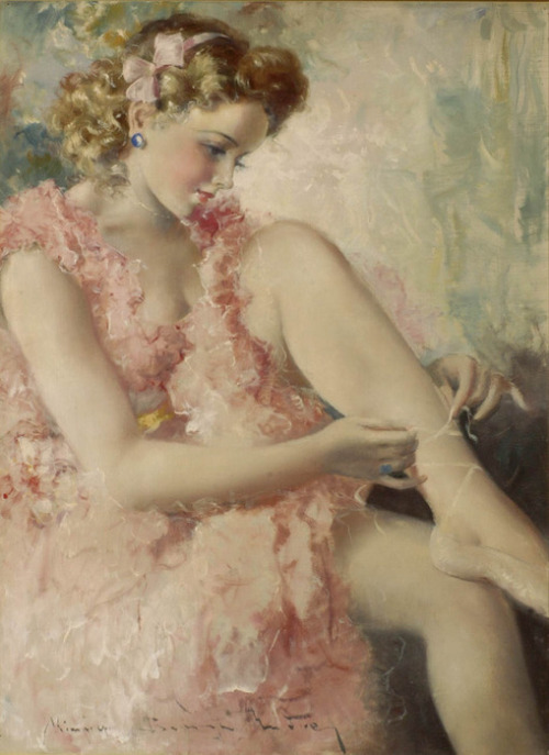 art-and-dream:   Maria Szantho, 1898-1984  beauty
