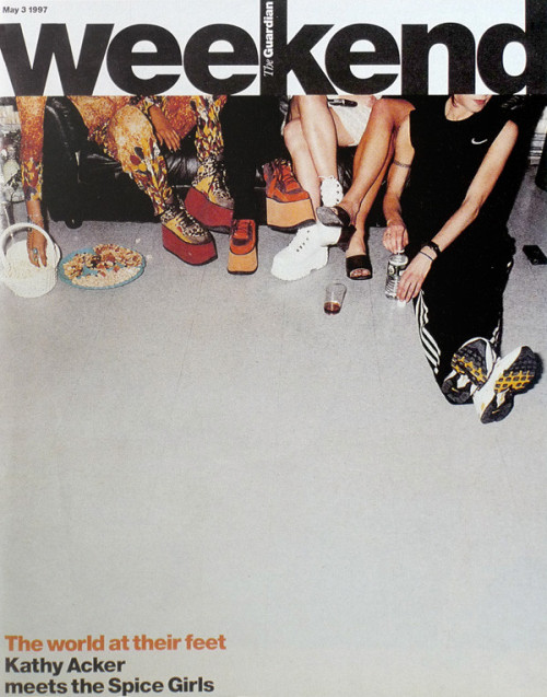 KATHY ACKER + the Spice Girls???? WHOAH. Awesome. I need a link to this article, quick. OH, FOUND IT!