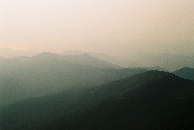 sunset@ tai mo shan by kellyhui on Flickr.