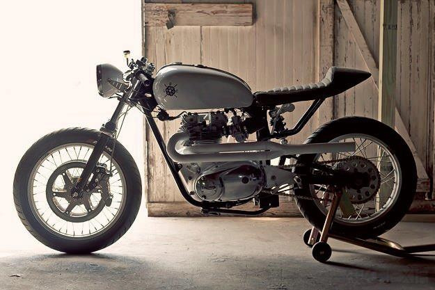 Triumph Bonneville Cafe Racer by Loaded Gun  Extraordinarily sexy.