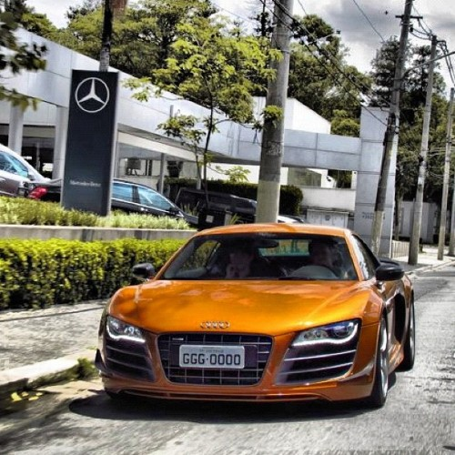 "#Audi #WantAnR8 #Over #Mercedes ""I am Sexier."" (Taken with Instagram)"