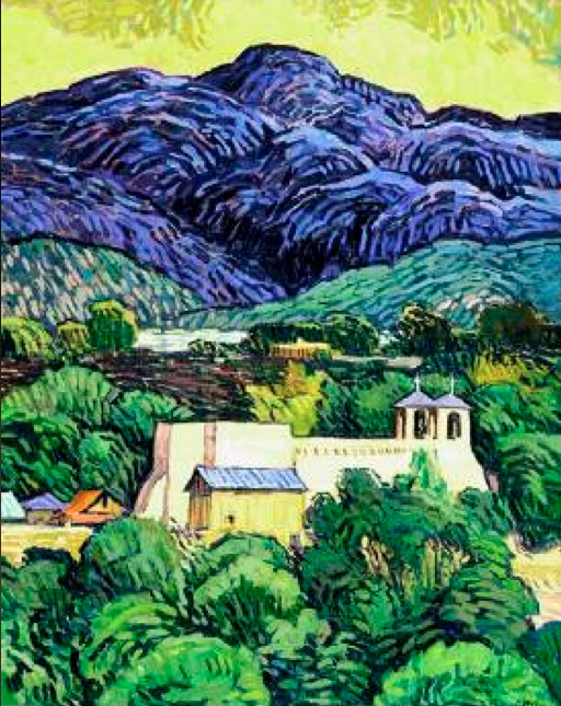 Robert Daughters (1929 - living) - Ranchos de Taos  (More Daughters at my former blog)