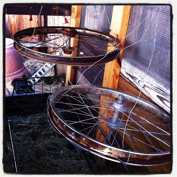 Added back the second bike rim.. / on Instagram http://instagr.am/p/N6SMKahehl/
