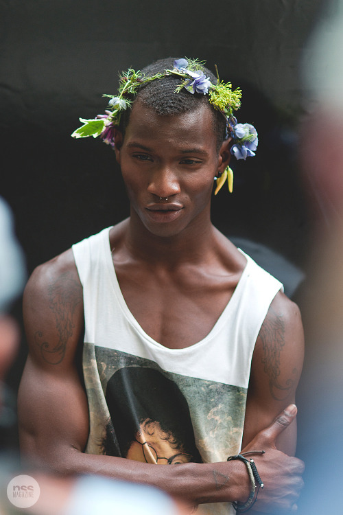 cuntcredentials:  Outside Vivienne Westwood SS13 show