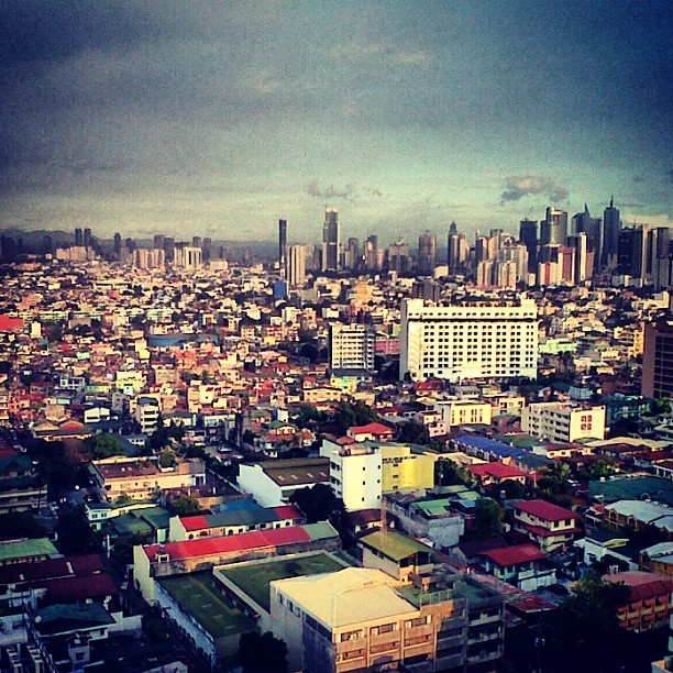 Hello Manila.. (Taken with Instagram)