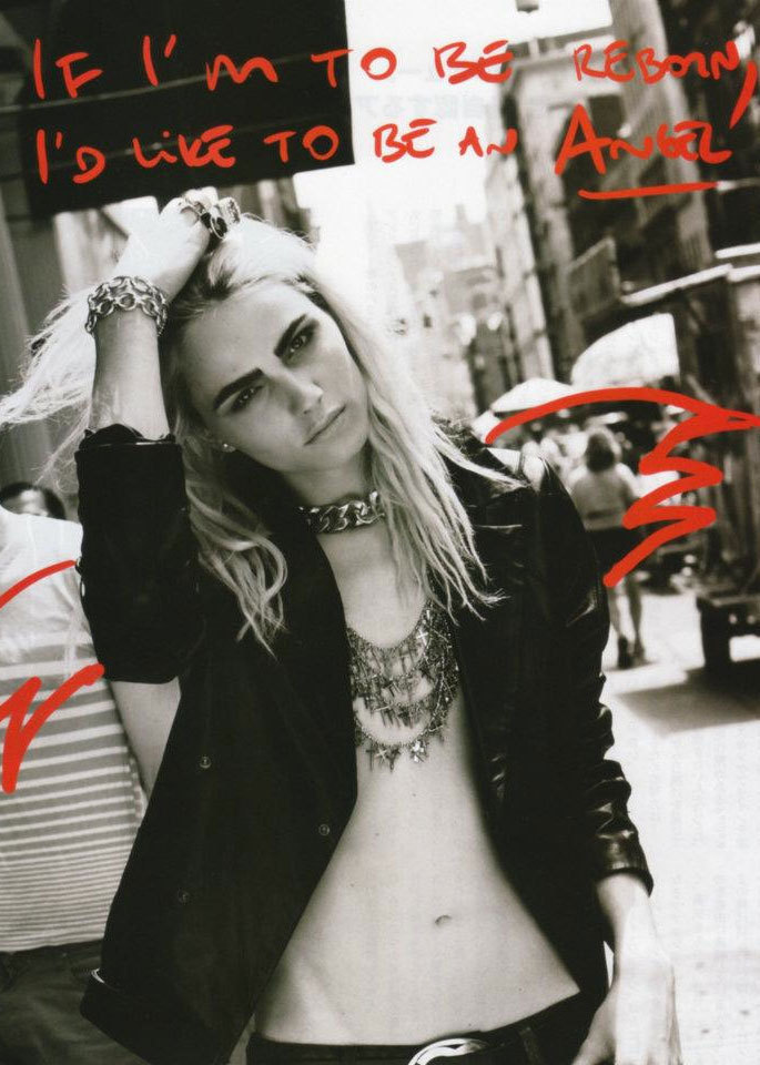 Ginza Journal August 2012 Andrej Pejic lensed by Taghi Naderzad and styled by Kithe Brewster
