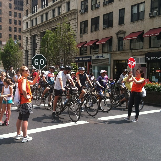 Split Decision #summerstreets #bicycles #traffic (Taken with Instagram)