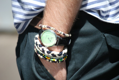 My good friend Filipe's summery wrist…