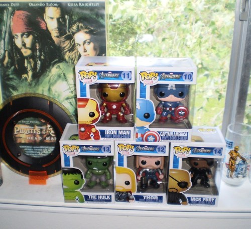 YES!!! ANOTHER AVENGERS COLLECTION COMPLETED!!!!