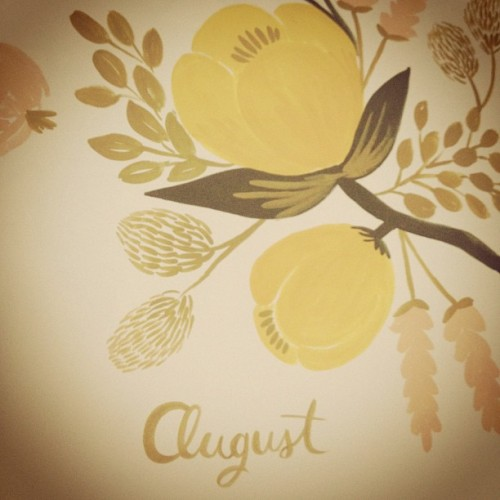 Hello, August. (Taken with Instagram)