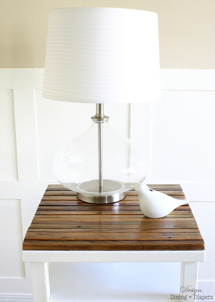 We are loving this DIY Distressed Side Table Makeover. Not only does it look totally awesome, but the wood was rescued from a dilapidated trellis. Great story, and fantastic project. Rediscover lost, forgotten, and unused items. - Team Forrage