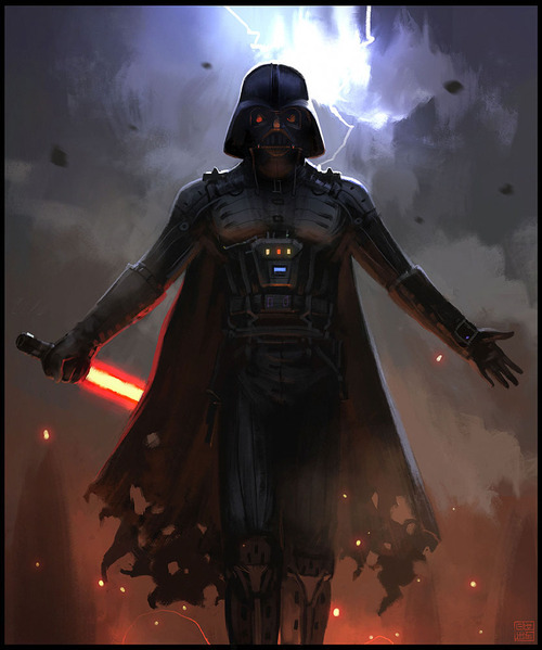 uniquecollectibles:  Darth Vader