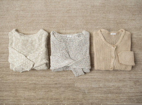 earlgrayteapudding:  Soft knits.