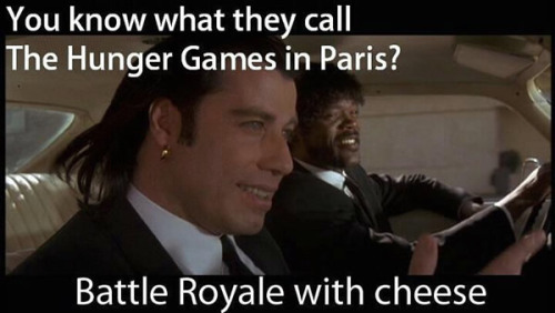 Battle royale with cheese