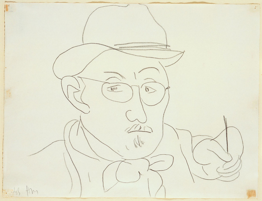 Henri Matisse, self-portrait