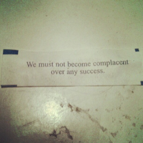 Truth in fortune cookies. (Taken with Instagram)