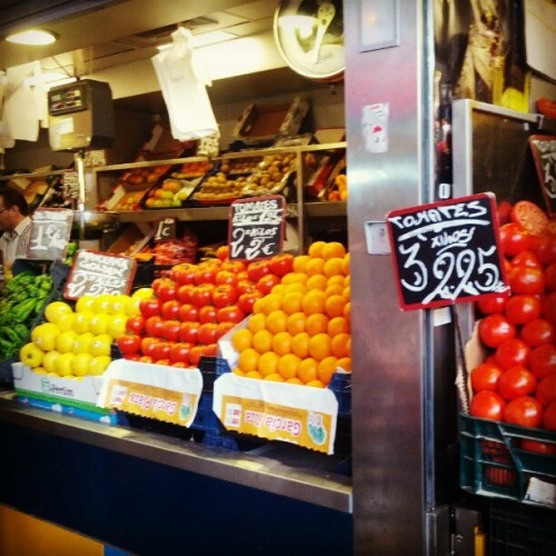 Frutas #eurogram  (Taken with Instagram at Pescaito Frito Mercado Atarazanas)