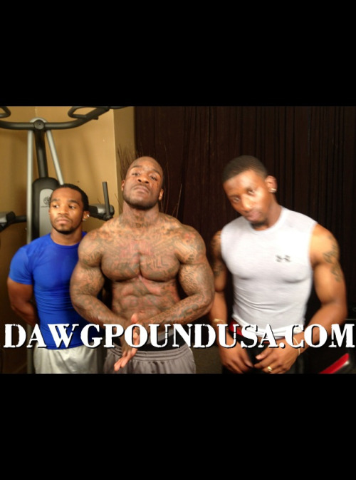 I would do em all dawgpoundusa:  Working out with Bulldawg and the Dawgpound GYMBOYS.