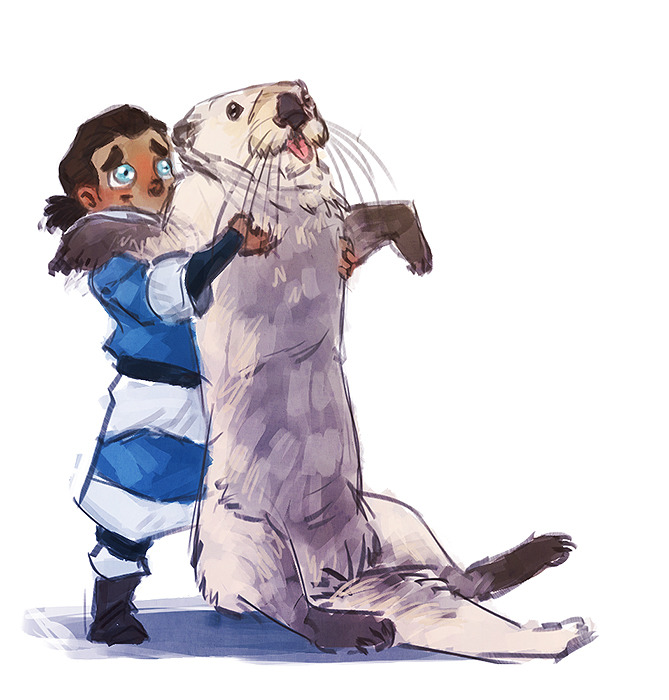 korrashorts:  korraddiction:  caboodledoodle:  Tarrlok, no.NO, you're NOT keeping it!You put that back right where you found it, young man! This is a belated birthday-gift for mugu! I hope you like it, dear! I wish you only the best, keep on rocking and keep up your super awesome art! <3  OMFG THIS IS SO CUTE ;A;  SO CUTE OMG