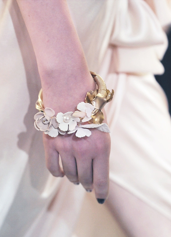wink-smile-pout:  Nina Ricci Spring 2010 The Jewelry Details
