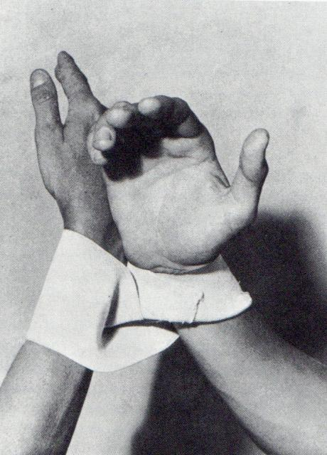 Hand Dialogue, 1966 by Lygia Clark