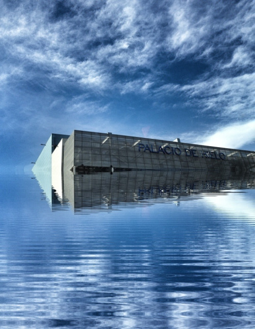 Flood Project - Palacio de Hielo Centro Comercial, Madrid, Spain Photo: Adolfo Miranda