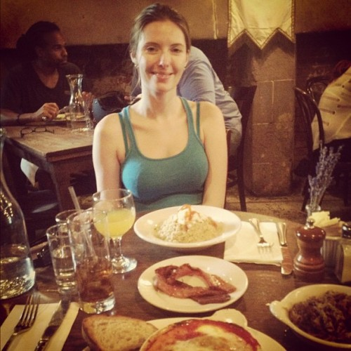 Anne is here! Also new brunch menu! Cc @apay00  (Taken with Instagram at The Smile)