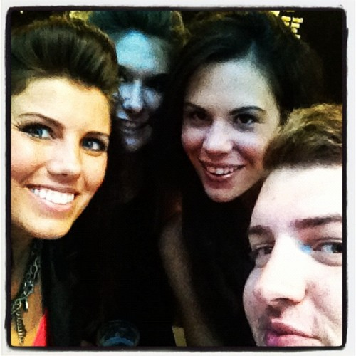 Hitting @jessiej with @benjysbanter & @zoegriffin :)  (Taken with Instagram)