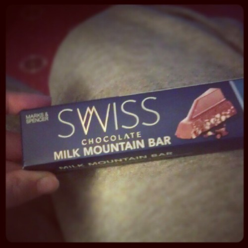 My favourite chocolate ever :)  (Taken with Instagram)