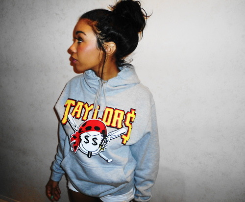 Hottie in a hoodie! http://dopemerch.tumblr.com/