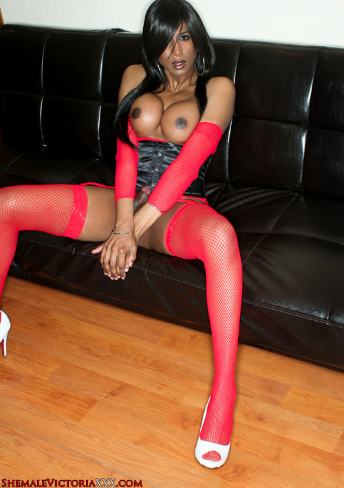 » Click here for more Shemale in red Stockings «