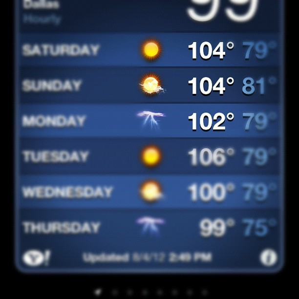 104 degrees +🔥+drums in dallas =fucked! (Taken with Instagram)