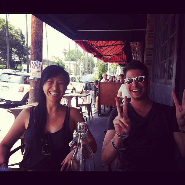Brunchin' @djfeifei @das_reinfeld (Taken with Instagram at Franklin & Co Tavern)