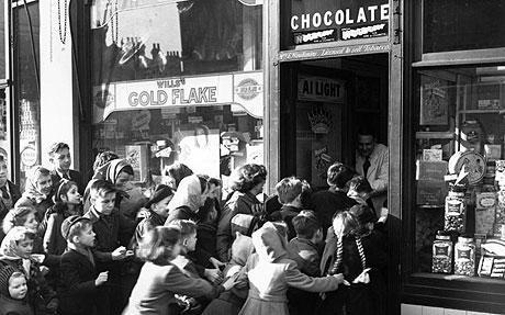 Rationing 1953 England historical photography