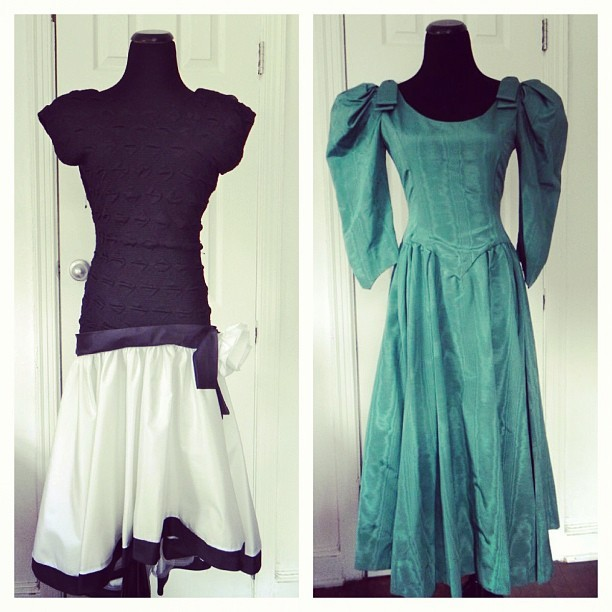 More cute dresses www.vintageworldrocks.etsy.com #vintage #fashion #fall #etsy #sale #bestofetsy (Taken with Instagram)