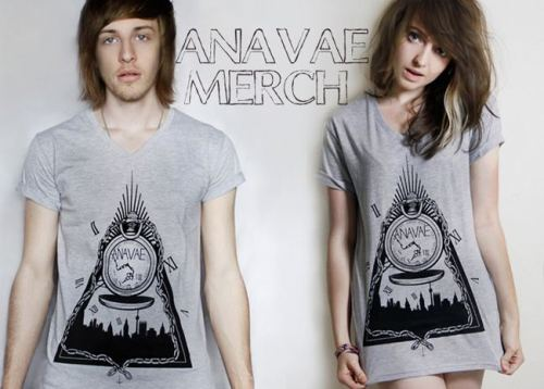 So Anavae just released their merch that I designed! Buy yourself a tee here!