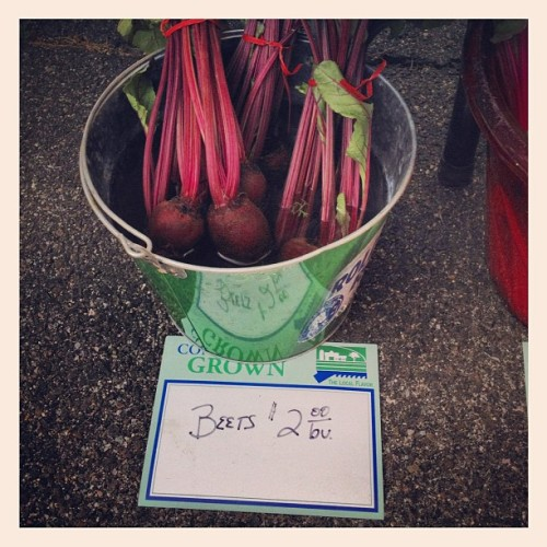 Real beets! #farm #auntpatti #uncleray #fresh  (Taken with Instagram)