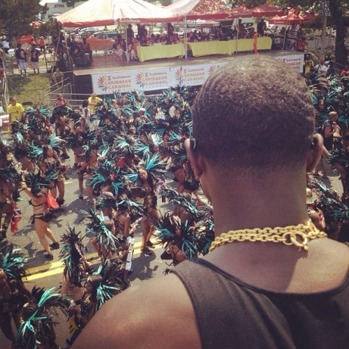 @catchupwithv caught me caught up in the moment… #caribana2012 (Taken with Instagram)