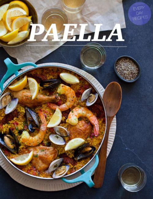 someone come make me paella. it looks so good.