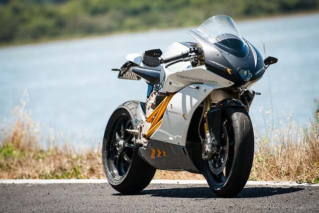 MissionR electric superbike