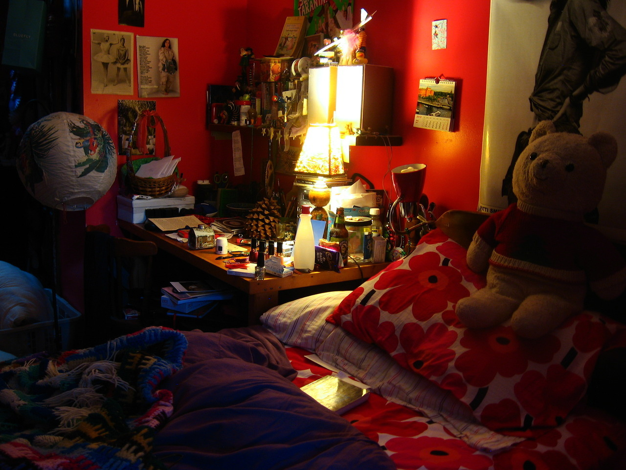 This is my room at present, me at age 22. I just graduated from college in May and I am lately feeling rather nostalgic since I am only here for the summer before I begin my adulthood for real. This is the last time I will live in this room, with all the stuff I've collected over the years. This is the place I feel most at home, compared to anywhere else. I will miss it for sure, and I'm glad I documented it before I move.—darlingdaintyfoot Adulthood never really begins. For certain people, myself included, adulthood is like a mythical unicorn or a UFO abduction, something you hear about but never experience for yourself.