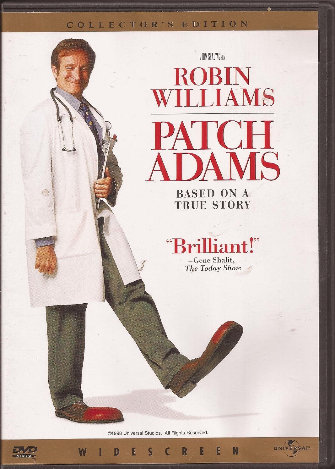 Watching Patch Adams on DVD