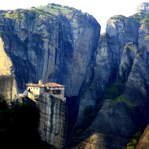 Monasteries at Méteora, Greece