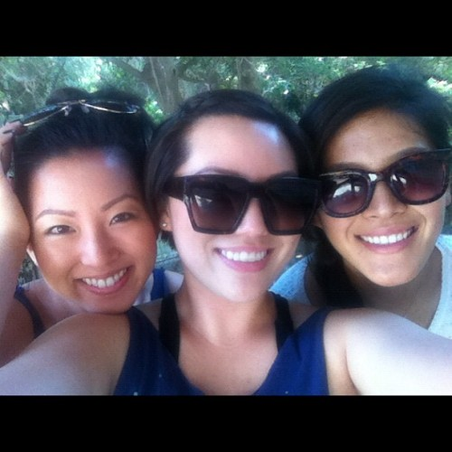 Runyon with the girls! (Taken with Instagram)