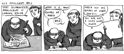 This is the sort of monk I would be. (from Kate Beaton)