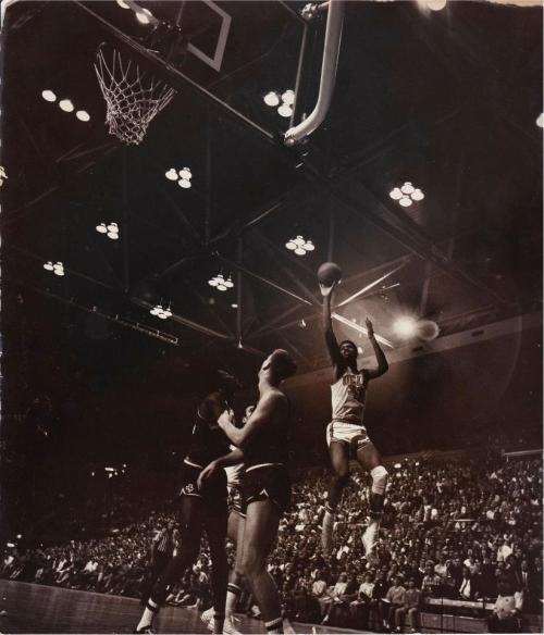 UCLA vs Notre Dame Game in the 1966-67 series.