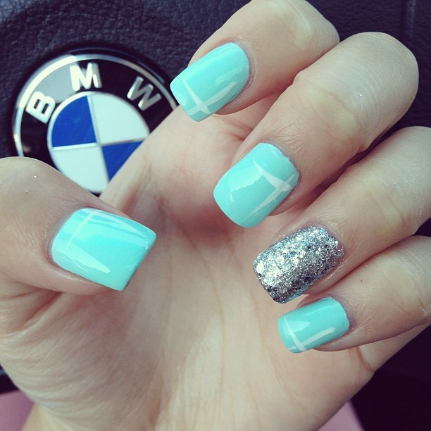 "mic-g:  ""Tumblr style nails"" says the boy. (Taken with Instagram)"