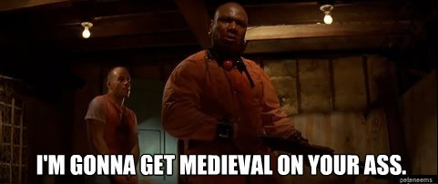 Medieval On His Ass 16