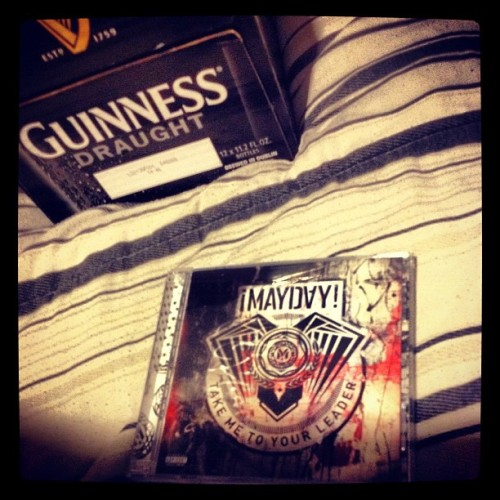 Finally found #mayday cd at bestbuy lol #strangemusic #guinness #beer #weekend  (Taken with Instagram)